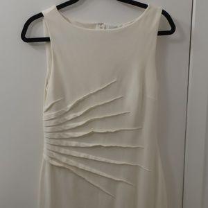 Off-White Sheath Dress